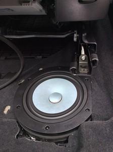 2015 BMW X1 Underseat Subwoofer Installation - USA