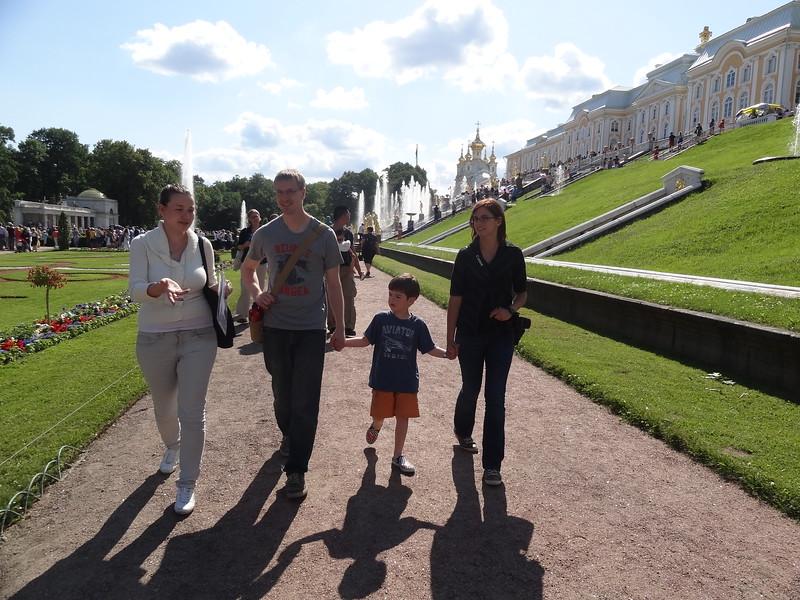 csw3 lkw3Peterhof Lower Gardens, Peterhof, St. Petersburg, Russia