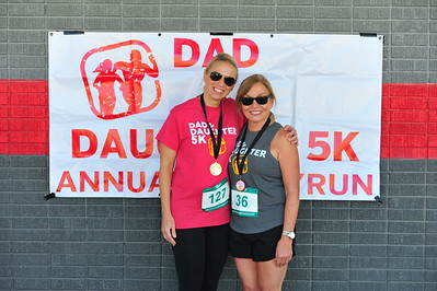 Dad and Daughter 5k 2021
