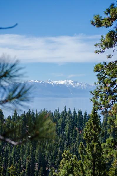 Picnic Rock Vista/Tahoe Rim Trail Hike/Lake Tahoe/NV - May, 2014