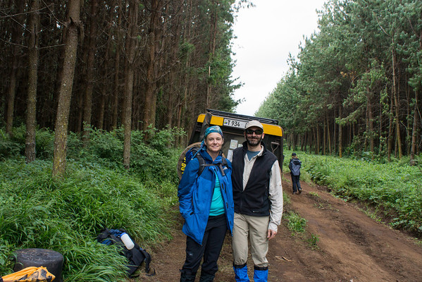 Tanzania 2012 Day 3: Leave for Kilimanjaro, Hike Londorossi Gate to Forest Camp