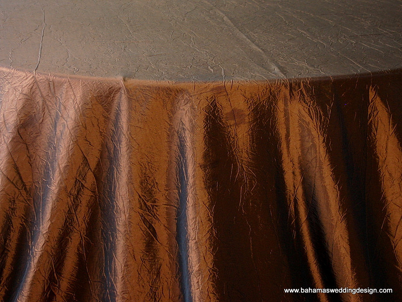 Crushed Taffeta - Copper