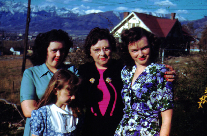 JoeAnne, Maudeen, Lillian & Bette Eldredge