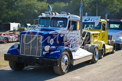 Rolling Thunder Big Rigs - Dirt Oval - August 27, 2011