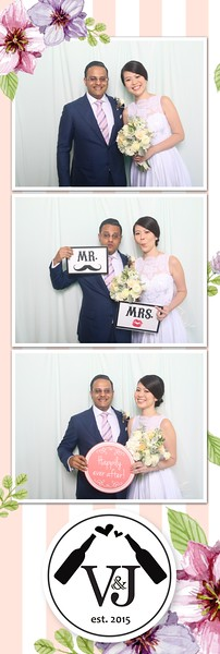 V&J Wedding Day (Photo Strips)