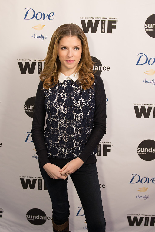 """. Anna Kendrick, attends the premiere of \""""Selfie,\"""" the new documentary short film from Dove and Sundance Institute, on the 10th anniversary of the campaign for \'Real Beauty\', Sunday, Jan. 20, 2014 in Park City, Utah. (Douglas Barnes/AP Images for Dove)"""