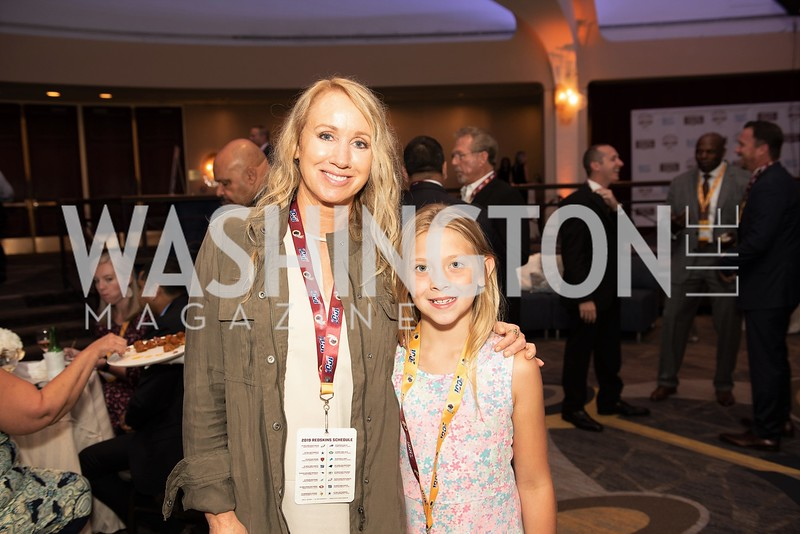 Ann Nance, Scarlett Mosely. Photo by Yasmin Holman. Redskins Welcome Lunch. Washington Hilton. 08.28.19