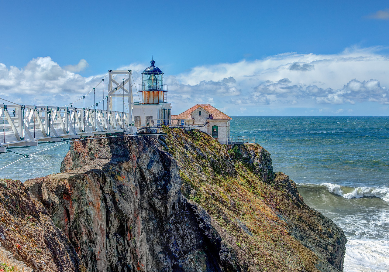 Point Bonita Lighthouse - Marin Headlands #KW-57