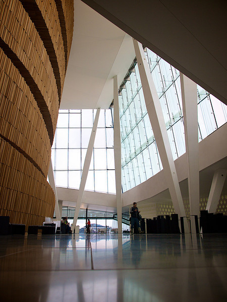 Spaces 3. Oslo Opera House. ********** Store flater 3. Operahuset i Oslo. (Foto: Geir)