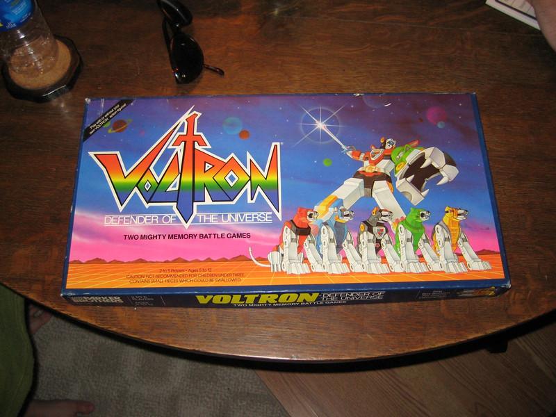 A Voltron Boardgame!!