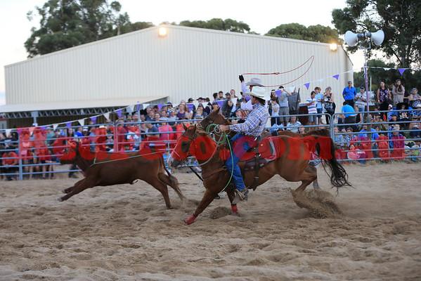 2014 03 08 Wagin Woolorama Rodeo Team Roping