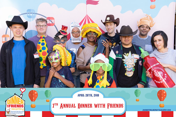 ROMP 7th Annual Dinner with Friends 4-28-18