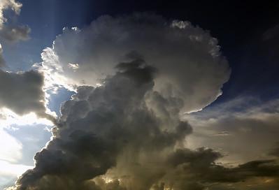 Thunderstorms and winter wonderland