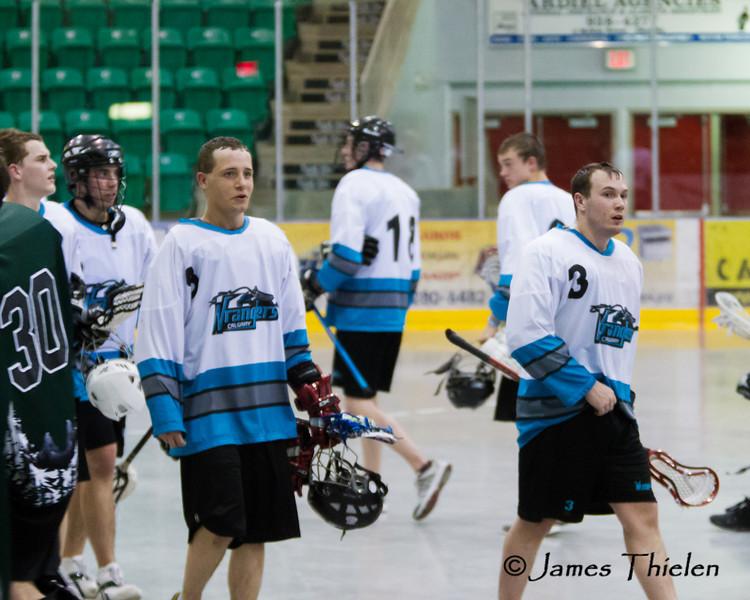 Game, May 12, 2012 Okotoks Ice vs Calgary Wranglers