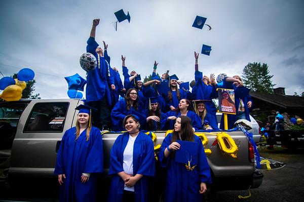 Crescent High School Graduation and Parade 2020
