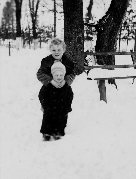 Alex and Lydia Todositchuk, about 1942 in Wolochisk, Ukraine