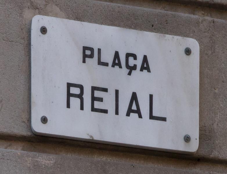 Barcelona, Placa Reial.