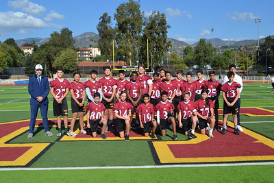 LCHS 7/8 Students Play in Turkey Bowl