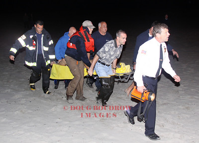 Winthrop, MA - Water Incident, Winthrop Beach, 9-28-09