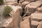 Felsspalten am Eagle Point, Grand Canyon