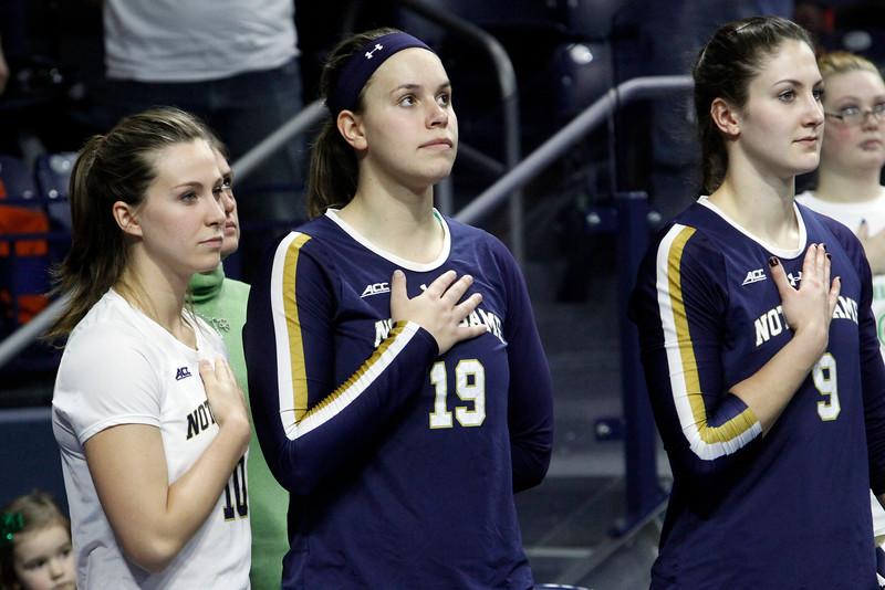 Notre Dame vs Pitt (volleyball)