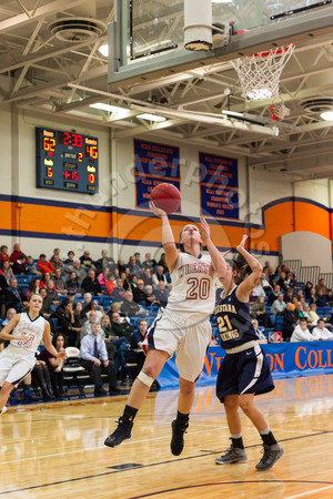 Wheaton College Women's Basketball vs Augustana, January 11, 2014