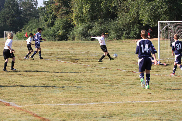 U12 Boys vs Cherokee Impact 10-6-2012