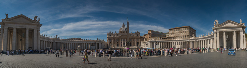 Sant Peter's Basilica and Square - Vatican City - Italy (September 2018)