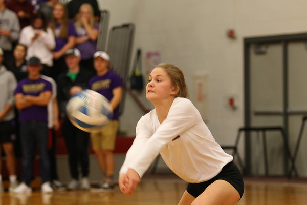 Volleyball Regionals vs. Schoolcraft - KCHS - 11/7/17