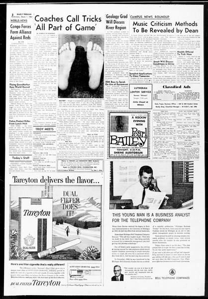 Daily Trojan, Vol. 52, No. 81, March 01, 1961