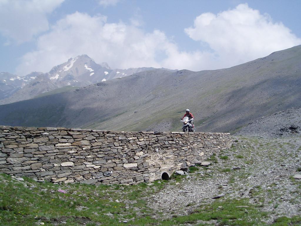 Monte Jafferau, Colle Basset. 2600 m.
