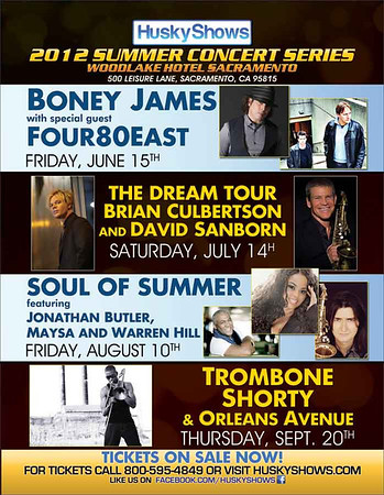 BONEY JAMES @ THE WOODLAKE HOTEL