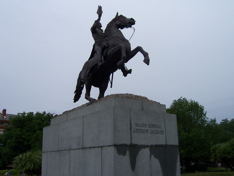 Andrew Jackson, in action.  Action Jackson.  Cool.