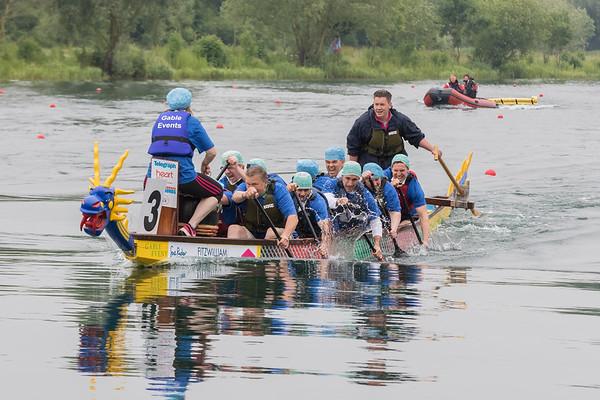 Phantoms Fitzwilliam Hospital Dragon Boat Race