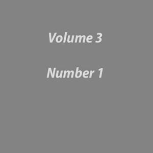 Volume 3 Number 1