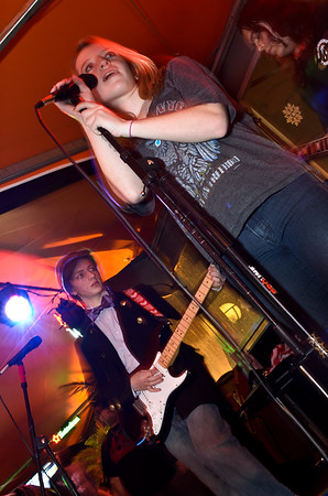 School Of Rock - B-Team with Owen Schmitt - Chickie's and Pete's - December 7, 2011