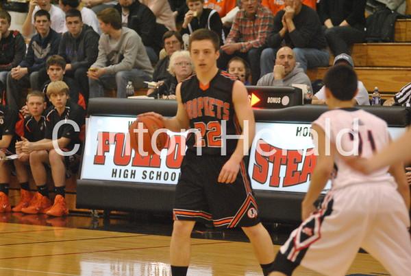 02/14/14: Boys Basketball — Fulton vs. Prophetstown