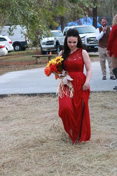 Gina Sims Cain Wedding - Ceremony