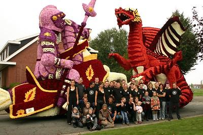 Bloemencorso 2005 - Groepsfoto's