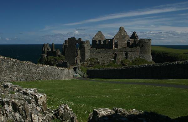 Dunluce Castle, Co Antrim, Northern Ireland
