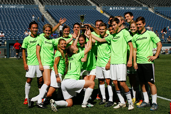 2014 SCORES Corporate Cup Finals @ Centurylink Field