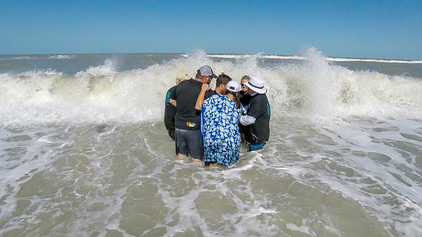 2017 Confirmation Beach Baptisms