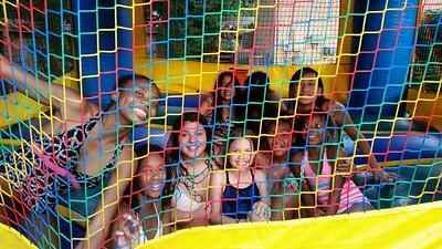 Maya and friends at 13