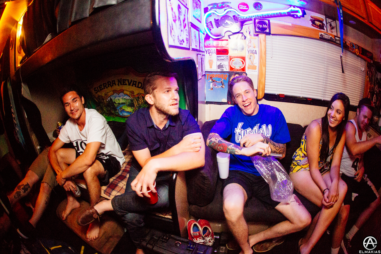 Chris Conley of Saves The Day and Parker Canon of The Story So Far