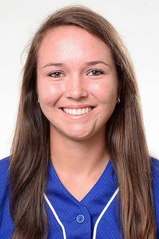 . Janell Wheaton has been named to the Inland Valley Daily Bulletin\'s All-Area softball team. Wheaton is a junior at San Dimas High Schoo. Sarah Reingewirtz staff photo Inland Valley Daily Bulletin.