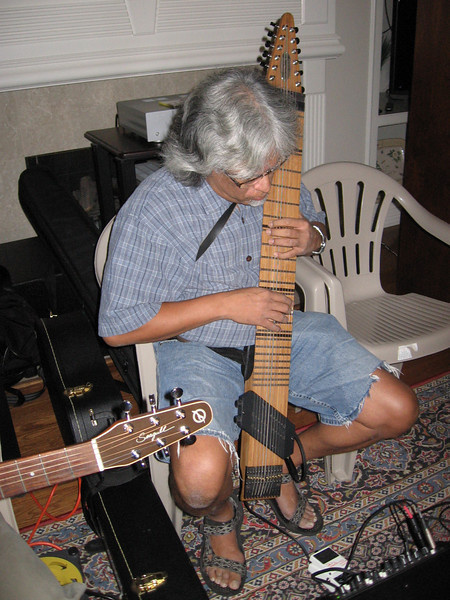 Jim Kam and his Chapman stick