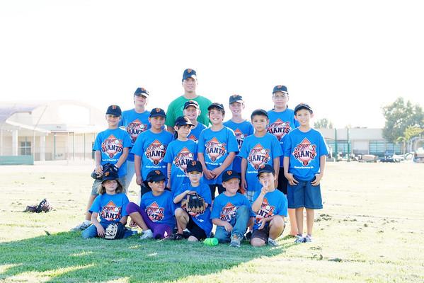 Jr. Giants ~ Team 4, Coach Soto