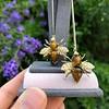 Vintage Bee Conversion Earrings 15