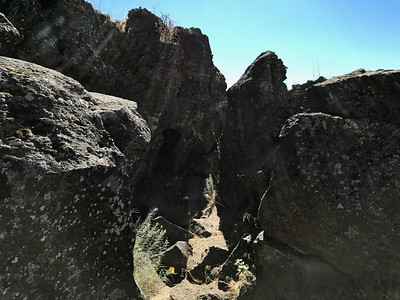 Lava Beds, the Stronghold , and Klamath Falls