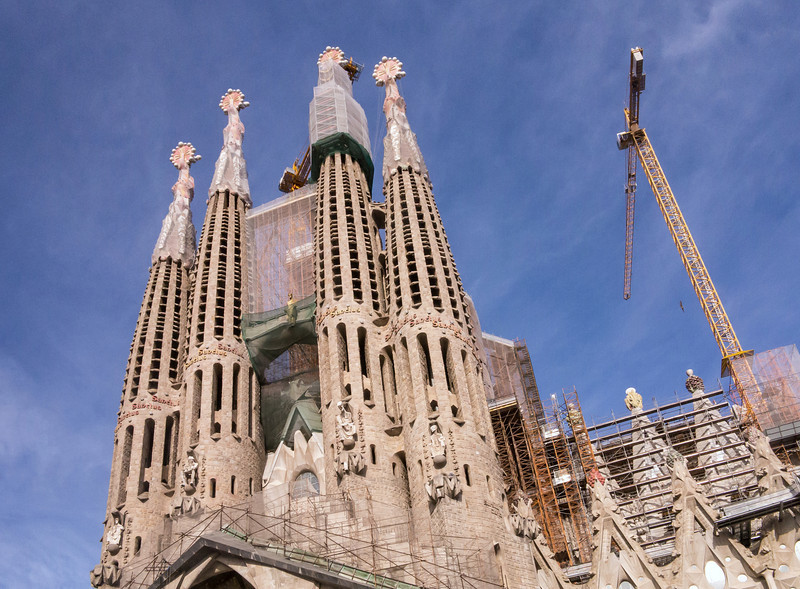 Barcelona, Sagrada Familia.